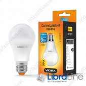 Светодиодная LED лампа VIDEX A60e 9W E27 4100K 220V