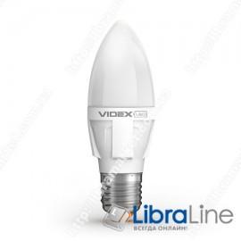 Светодиодная LED лампа VIDEX C37 5W E27 3000K 220V