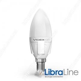 Светодиодная LED лампа VIDEX C37 6W E14 3000K 220V