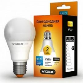 Светодиодная LED лампа VIDEX  A60e 10W E27 4100K 220V