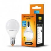 Светодиодная LED лампа VIDEX G45e 6W E14 4100K 220V