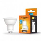 Светодиодная LED лампа VIDEX MR16е 5W GU10 3000K 220V (VL-MR16е-05103)
