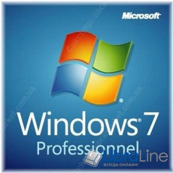 Программное обеспечение Windows 7 SP1 Professional 32-bit Russian DVD OEM MICROSOFT OEM