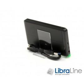 """Внешний карман для HDD ProLogix BS-U23B SATA HDD 2.5"""", USB 3.0, Black"""