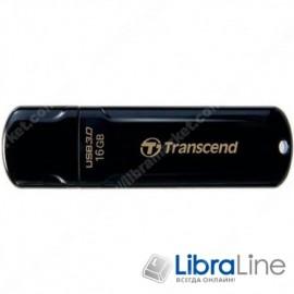 USB Флэш память Transcend JetFlash 700 USB 3.0 16Gb black TS16GJF700