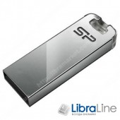 Флэш память SiliconPower Touch T03 USB 2.0 32Gb silver SP032GBUF2T03V3F