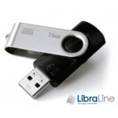 USB Флэш память Goodram Twister USB 2.0 16Gb  UTS2-0160K0R11