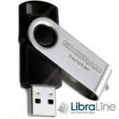 USB Флэш память Goodram USB 8GB UTS2 Twister Black UTS2-0080K0R11