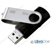 USB Флэш память Goodram UTS2 Twister 32Gb black UTS2-0320K0R11