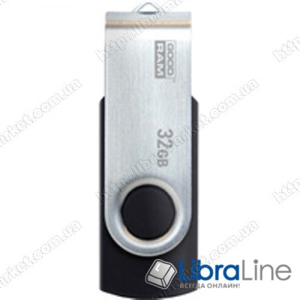 USB Флэш память Goodram UTS2 Twister 32Gb black UTS2-0320K0R11
