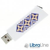 USB Флэш память Goodram UCL2 UKRAINE 8Gb white  UCL2-0080W0R11-L