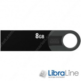USB Флэш память Goodram URA2 USB 2.0 8Gb black URA2-0080K0R11