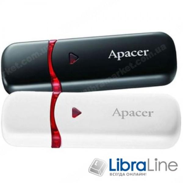 USB Флэш память Apacer AH333 8Gb white AP8GAH333W-1