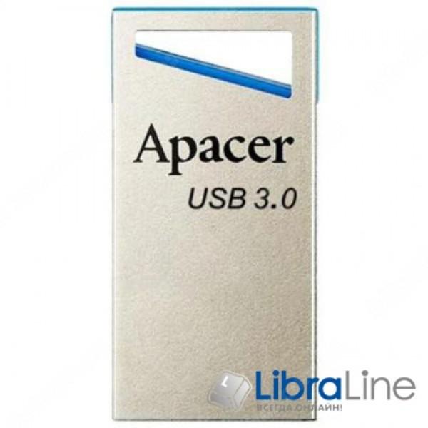 USB Флэш память Apacer AH155 USB 3.0 8Gb Blue  AP8GAH155U-1
