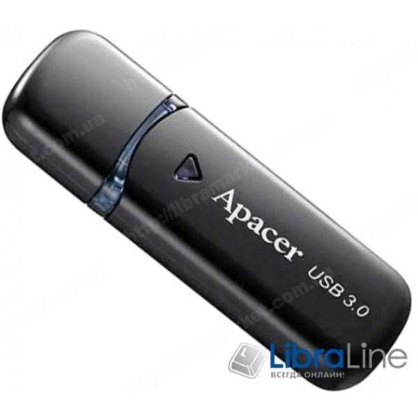 USB Флэш память Apacer AH355 USB 3.0 8Gb black  AP8GAH355B-1