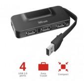 Концентратор TRUST Alo 4 Port USB 2.0 Hub (22922)