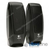 Колонки 2.0 Logitech S120 Black, пластик, 2.3Вт, Retail, аккустическая система