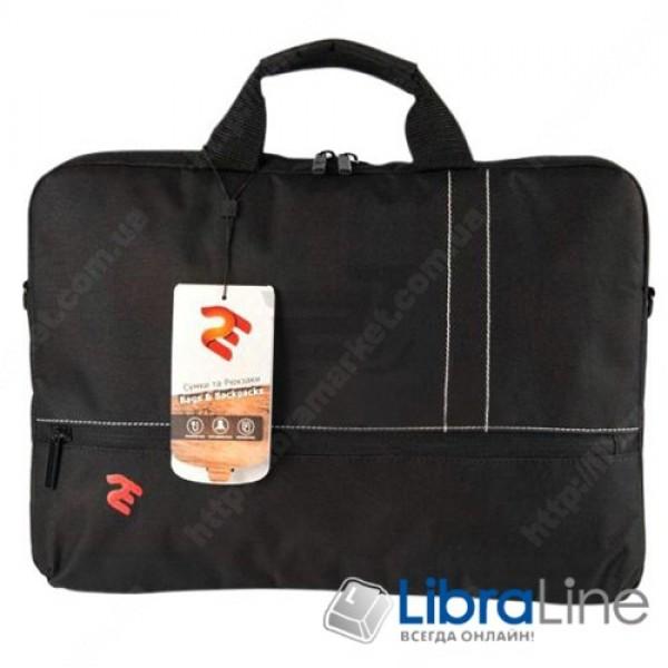 """2E-CBN516BK Сумка для ноутбука 2E 16"""" Black"""