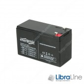 Аккумуляторная батарея, аккумулятор  EnerGenie BAT-12V7.2AH, 12В 7.2 Aч