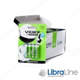 Батарейка щелочная Videx LR03/AAA