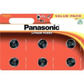 Батарейка Panasonic CR-2032EL/6B 6 шт.