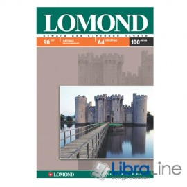 0102001 Фотобумага Lomond A4 Matte 100л 90g