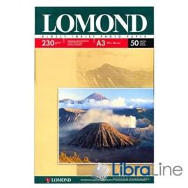 0102025 Фотобумага Lomond A3 Glossy 50л 230g