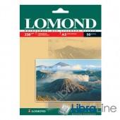 0102070 Фотобумага Lomond A5 Glossy 50л 230g