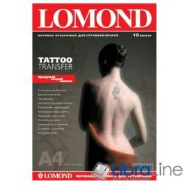 2010440 Фотобумага Lomond Tattoo Transfer A4 10л для временных татуировок