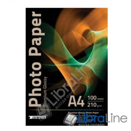 Фотобумага Tecno A4 Glossy 100л 210g Premium