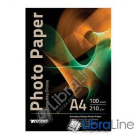 Фотобумага Tecno A4 Glossy 100л 210g Value pack Everyday