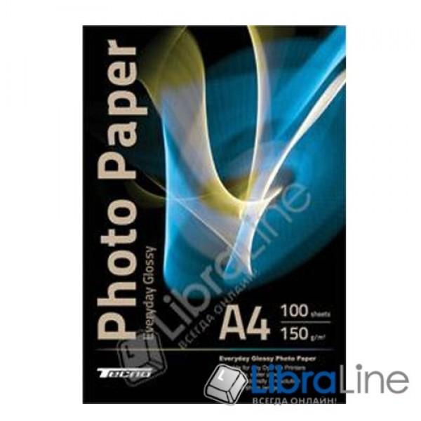 Фотобумага Tecno A4 Glossy 100л 150g Value pack Everyday