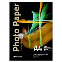 Фотобумага Tecno A4 Matte 50л 220g 2 сторонняя
