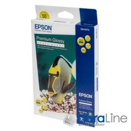 Фотобумага Epson 13x18 Premium Glossy 50л 255g C13S041875