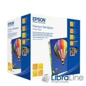 Фотобумага Epson A6 Semiglossy 500л 250g C13S042200