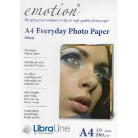 Фотобумага Emotion A4 Superior Glossy 20л 260g ESP260A4