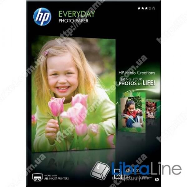 Глянцевая фотобумага HP для ежедневной печати, 100 листов, A4, 210 x 297 мм Q2510A