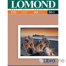 Фотобумага Lomond A4 Matte 50л 230g 0102016