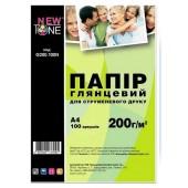 Фотобумага NewTone A4 glossy 100л 200g G200.100N