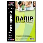 Фотобумага NewTone A4 Glossy 100л 180g G180.100N G800282