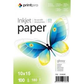 Фотобумага PrintPro A6 glossy 100л 180g 44016/PGE1801004R