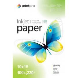 Фотобумага PrintPro A6 glossy 100л 230g 44019/PGE2301004R