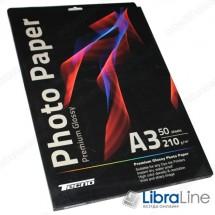 Фотобумага Tecno A3 Glossy 50л 210g Premium