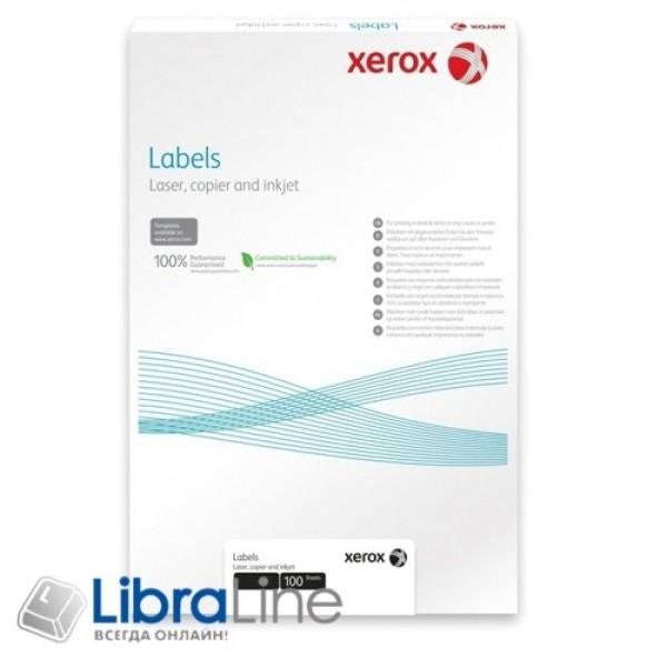 Этикетка Xerox для черно белой лазерной печати A4 / 14 100л 003R96289