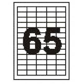 Этикетка Sapro A4/65 100л S2038