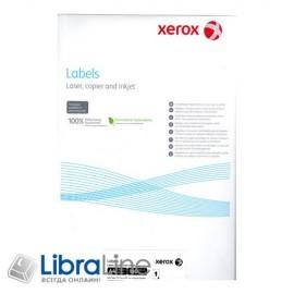003R96296 Этикетка Xerox для черно белой лазерной печати A4 / 16 100л