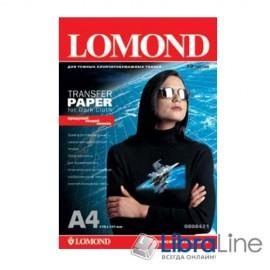 Термотрансфер, бумага  термопереноса Lomond A4 10л для темных тканей 0808421