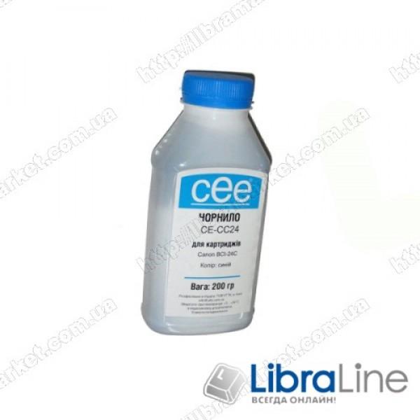 Купить Чернила CANON BCI-24 Cyan CE-CC24 CEE 200мл