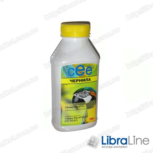 Чернила CANON CL-41 / CLI-8 Yellow CE-CC41 CEE 200мл