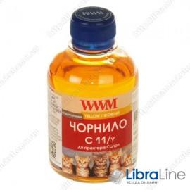 G220771 Чернила CANON CL511 / 513 / CLI521C / CLI426C 200г. Yellow WWM C11/Y